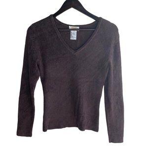 Talbots Petites Soft V-Neck Sweater
